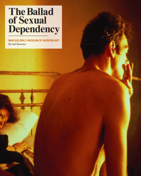 Nan Goldin, The Ballad of Sexual Dependency.